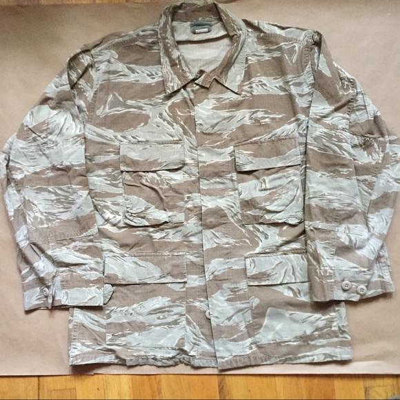1ca64a4992ad7 Jackets & Coats | Tiger Stripe Desert Storm Camouflage Field Jacket ...